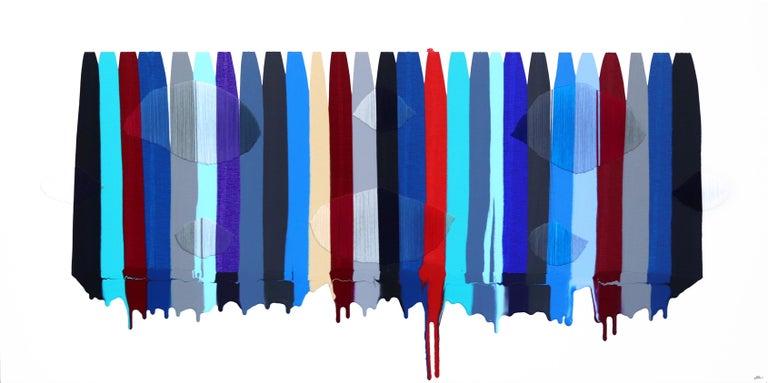 Fils I Colors CDLXXXIII - Mixed Media Art by Raul de la Torre