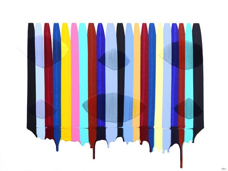 Fils I Colors DLI - Mixed Media Art by Raul de la Torre