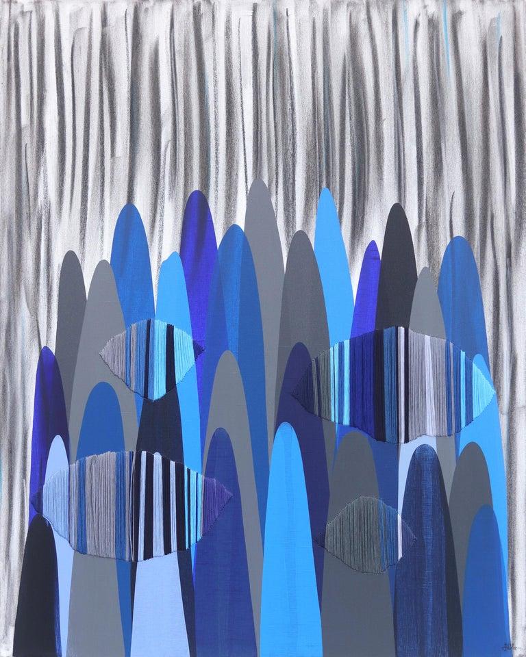 Raul de la Torre Abstract Painting - Poems LXXXV