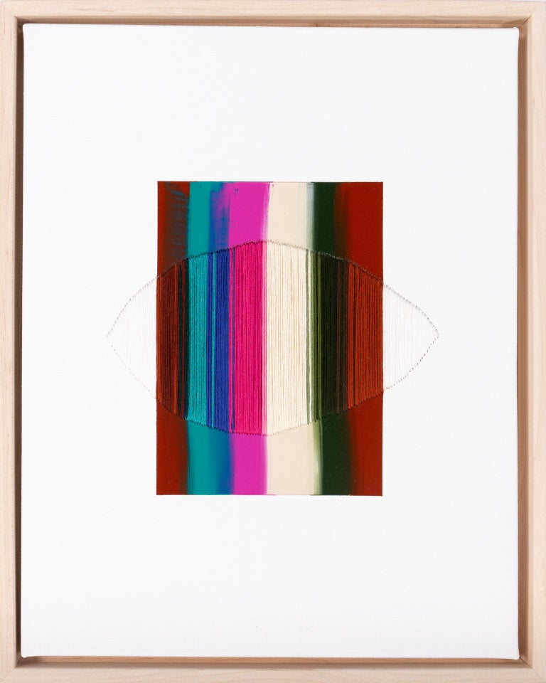 Raul de la Torre Abstract Painting - Brooklyn: The City Where I Knew You is Gone