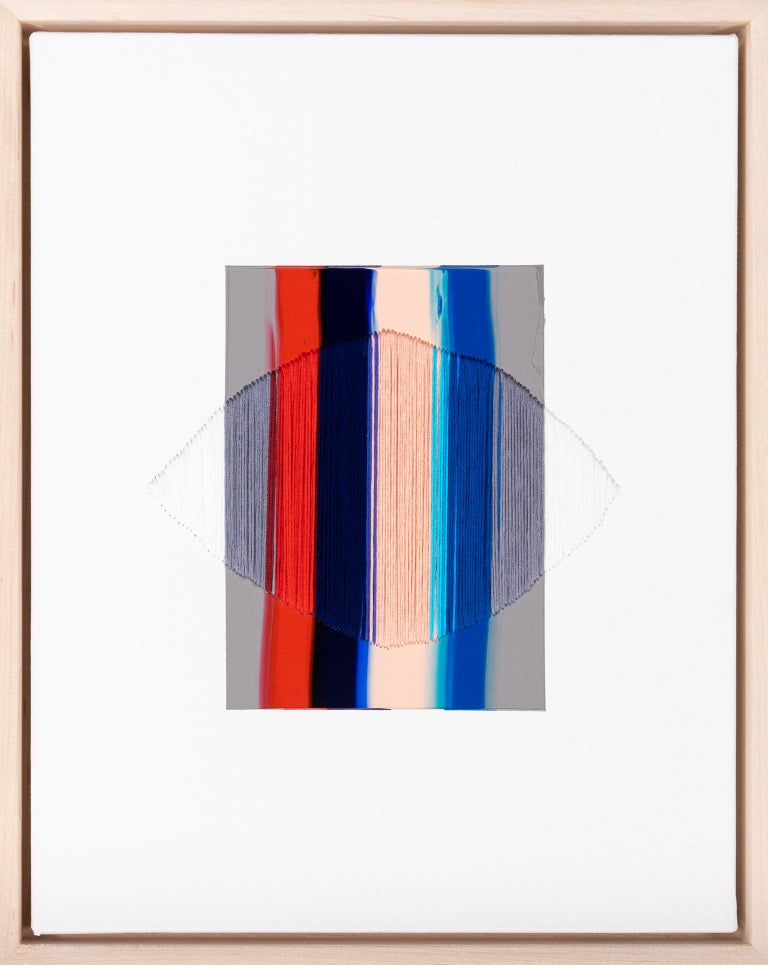 Raul de la Torre Abstract Painting - Brooklyn: The Stain of Skin on Stone