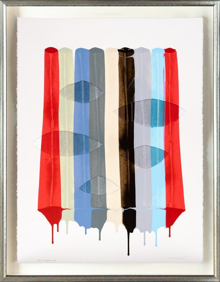 Fils I Color DXXII - Mixed Media Art by Raul de la Torre