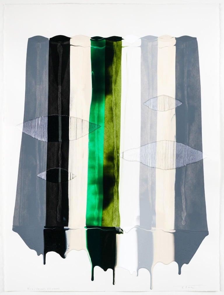 Fils I Colors CCCLXVIII - Painting by Raul de la Torre