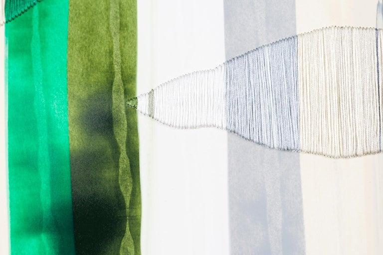 Fils I Colors CCCLXVIII - Abstract Painting by Raul de la Torre