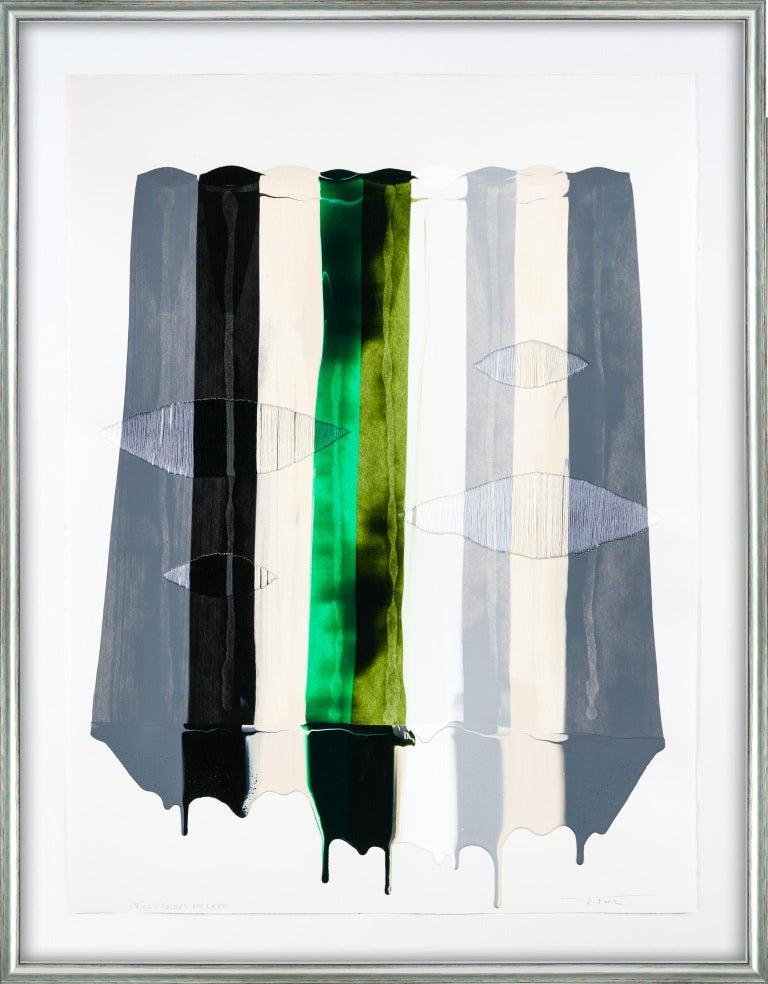 Raul de la Torre Abstract Painting - Fils I Colors CCCLXVIII
