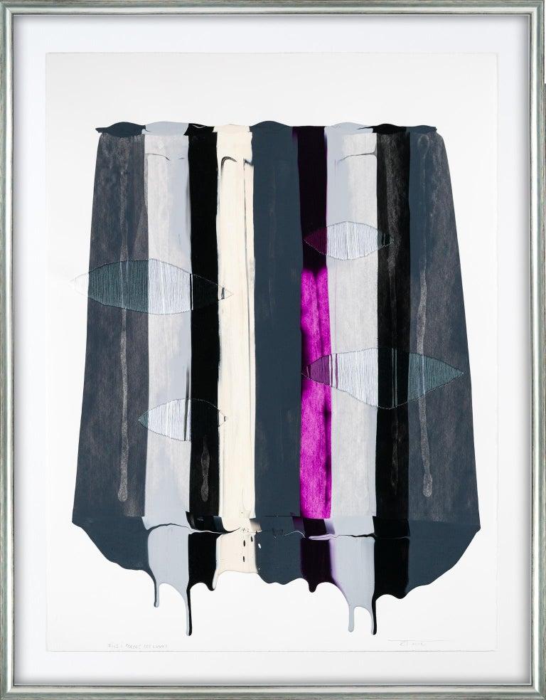 Raul de la Torre Abstract Painting - Fils I Colors CCCLXXXI