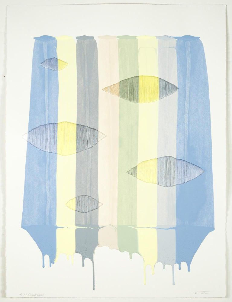 Fils I Colors CDLX - Abstract Mixed Media Art by Raul de la Torre
