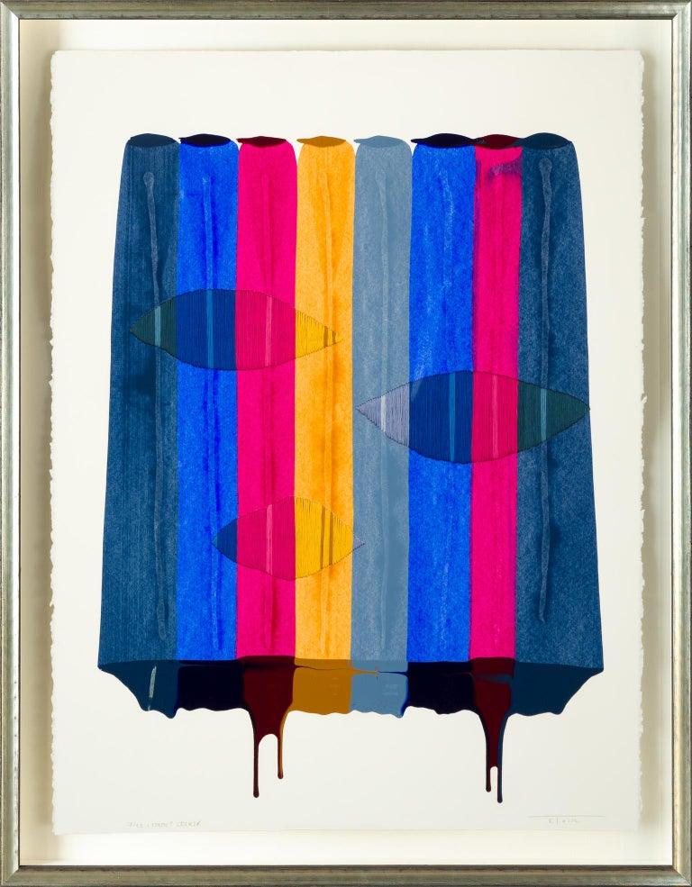 Fils I Colors CDLXIX - Mixed Media Art by Raul de la Torre