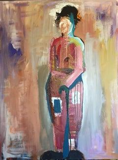 Clown, Painting, Acrylic on Canvas
