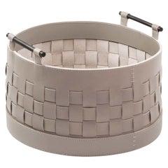 Ravenna Large Short Round Basket