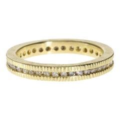 Raw Cube Diamond Ring