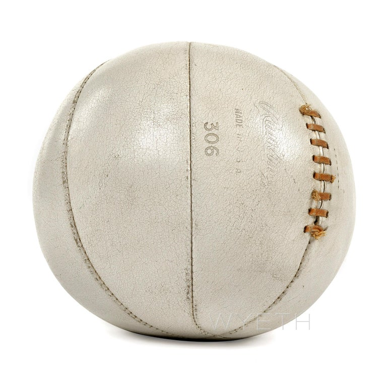 Rawlings 306 Medicine Ball In Good Condition For Sale In New York, NY
