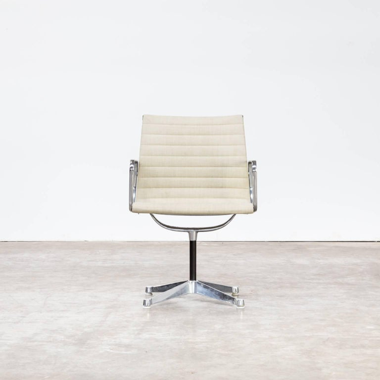 ray and charles eames ea108 fauteuils for herman miller set of six for sale at 1stdibs. Black Bedroom Furniture Sets. Home Design Ideas