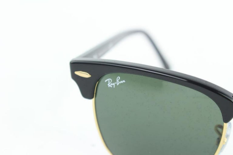4a2918833b Ray-Ban Black Rb3016 Clubmaster 49 B25mz1019 Sunglasses For Sale at ...