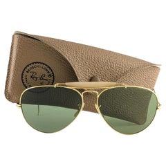 Ray Ban Vintage Outdoorsman 62Mm RB3 Green Lenses B&L Sunglasses 1980