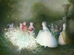 Festival of Light, surrealistic, myth, elf, modern, 21 century
