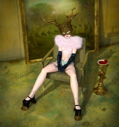 Minotaur, surrealistic, myth, nude, modern, 21 century
