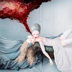The Curative, surrealistic, myth, elf, stockings, modern, 21 century
