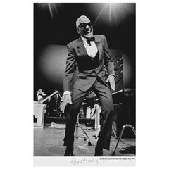 Ray Charles, North Sea Jazz Festival, the Hague, Limited Edition