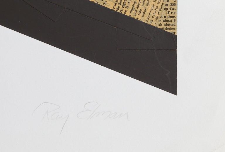 G.S. Came As An Artichoke - Print by Ray Elman
