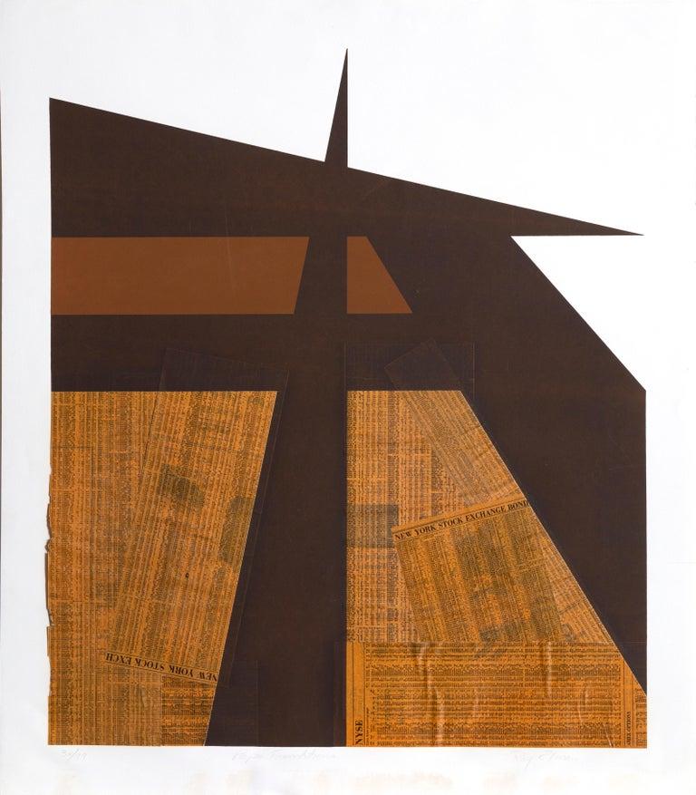 Paper Foundations - Mixed Media Art by Ray Elman