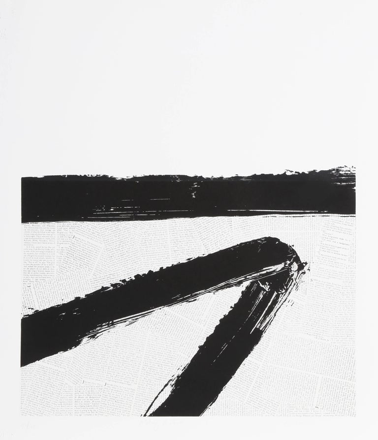 Ray Elman Abstract Print - Making a Point