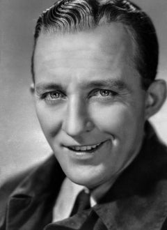 Bing Crosby Smiling Up Close II Movie Star News Fine Art Print