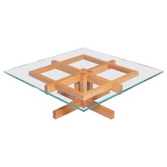 Ray Kappe RK10 Coffee Table in Red Oak by Original in Berlin, Germany, 2020