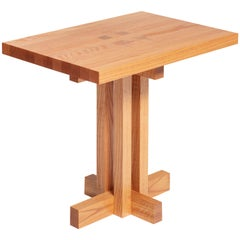 Ray Kappe RK12 Side Table in Red Oak by Original in Berlin, Germany, 2020