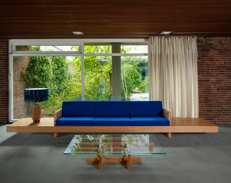 Ray Kappe RK4 Sofa in Red Oak by Original in Berlin, Germany, 2020 In New Condition For Sale In Berlin, DE