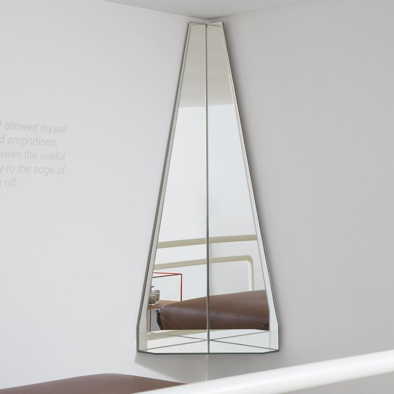 Contemporary Ray Mirror by Marco Brunori by Adele C For Sale