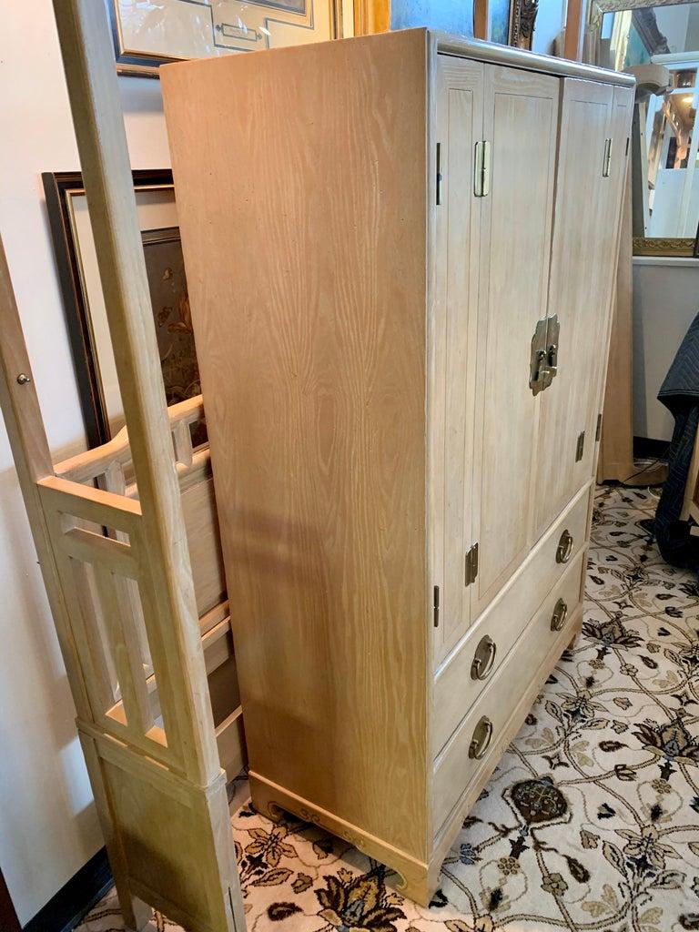 Ray Sabota for Century Furniture Midcentury Wardrobe Credenza Dresser Armoire For Sale 3