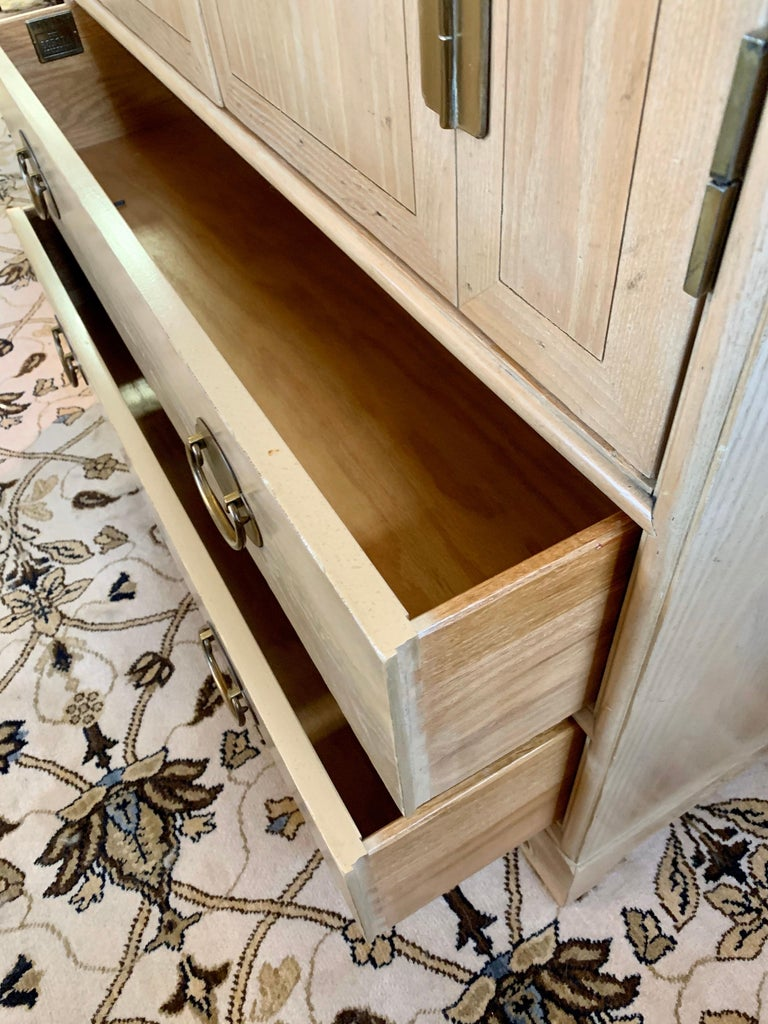 Ray Sabota for Century Furniture Midcentury Wardrobe Credenza Dresser Armoire For Sale 5