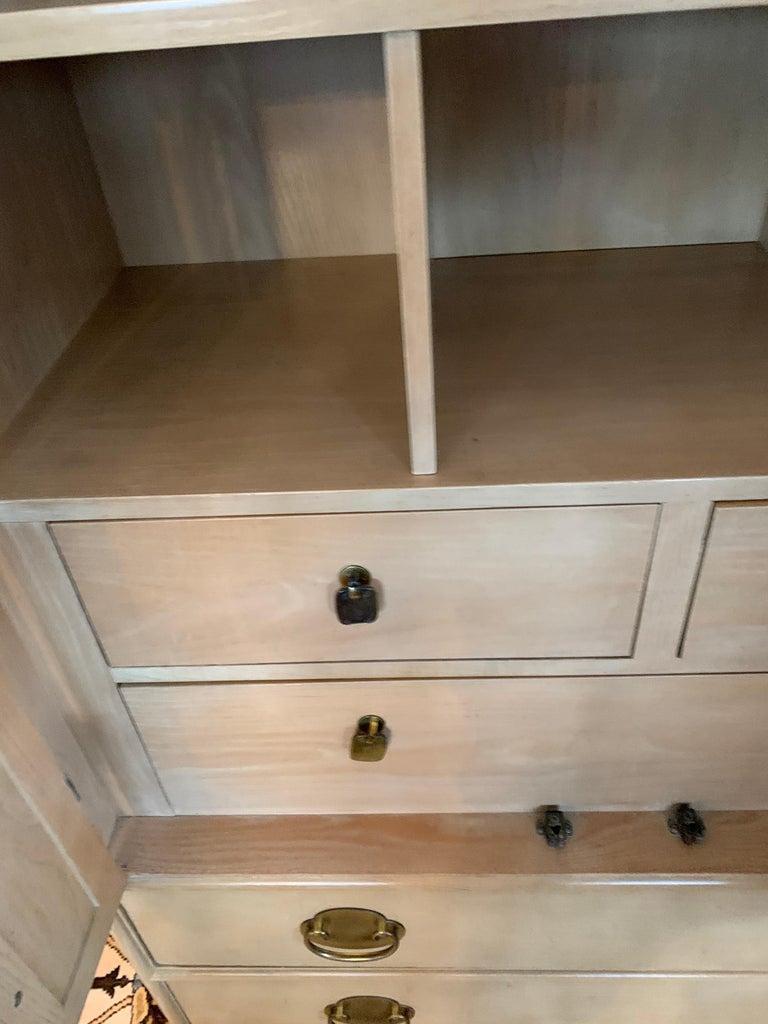 Ray Sabota for Century Furniture Midcentury Wardrobe Credenza Dresser Armoire For Sale 6
