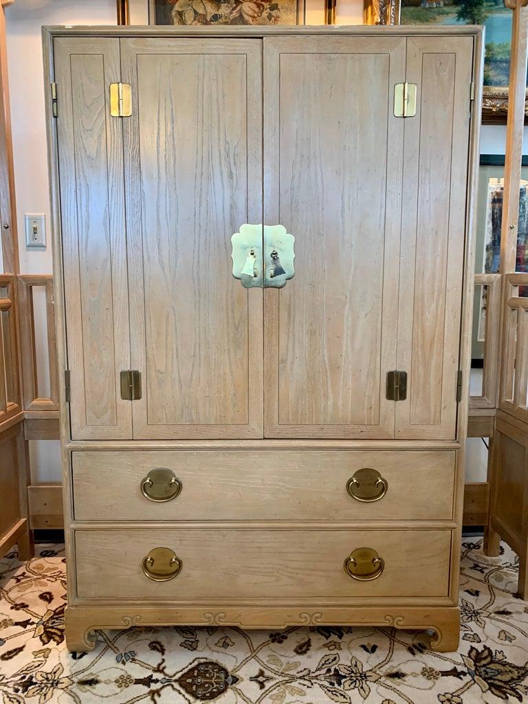 Ray Sabota for Century Furniture Midcentury Wardrobe Credenza Dresser Armoire For Sale 10