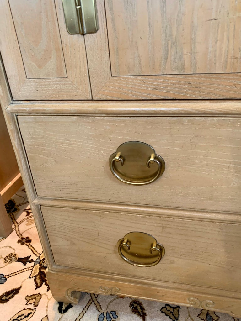 American Ray Sabota for Century Furniture Midcentury Wardrobe Credenza Dresser Armoire For Sale