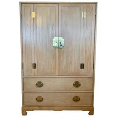 Ray Sabota for Century Furniture Midcentury Wardrobe Credenza Dresser Armoire