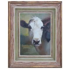 Naturalistic Portrait of a Cow