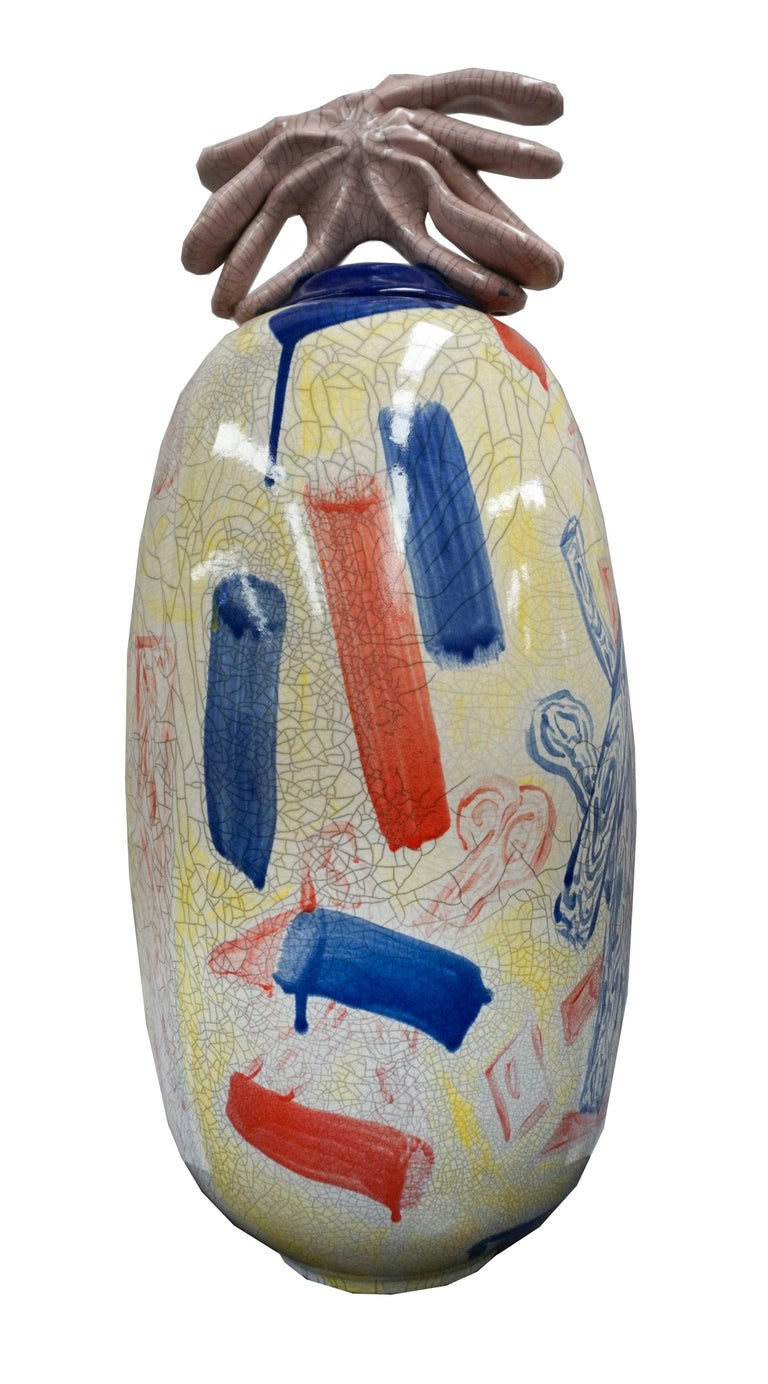 Vase 3 - Sculpture by Ray Smith