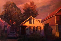 """Little Summer,"" Oil Painting"