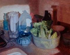 """""""Post Run"""" Oil Painting"""