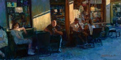 """""""Study for Venzia Last Day, Last Light"""" Oil Painting"""