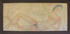 La Dame de Pompei Mix Media Painting by Raymond Dauphin