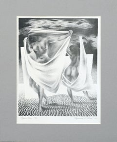 """Opposition"" Lithograph"