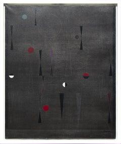 """il Griffo - Torino (Italia),"" oil on canvas painting by Raymond Grandjean, 1958"