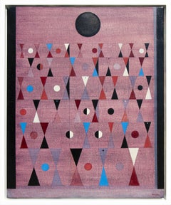 """Untitled"" Oil on canvas painting by Raymond Grandjean"