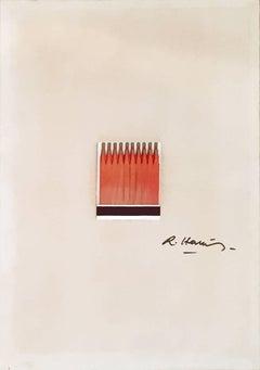 "New Realism by Raymond Hains ""Saffa"" Circa 1970 Mixed Media Nouveau Réalisme"
