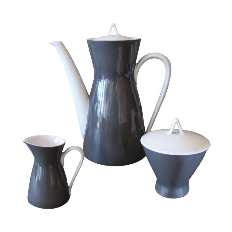 """Raymond Loewy After Dinner Coffee Set for """"Rosenthal 2000"""""""