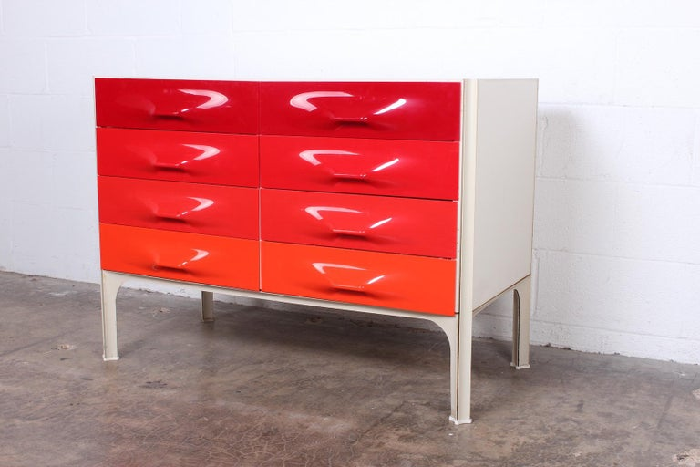 Mid-20th Century Raymond Loewy DF2000 Chest For Sale