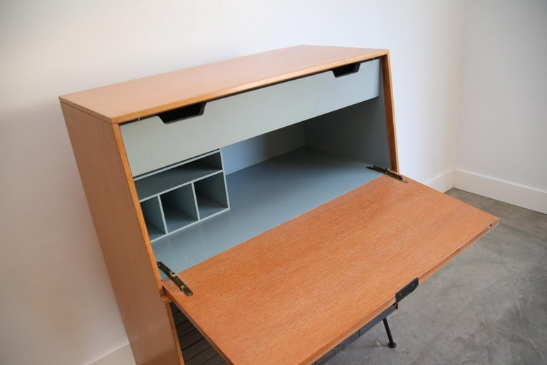 Mid-Century Modern Raymond Loewy for Mengal Drop Down Secretarys For Sale